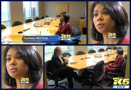 Tahmina Watson on King5 News discussing the Startup Visa