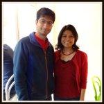 Raghu and Tahmina in Seattle, WA.