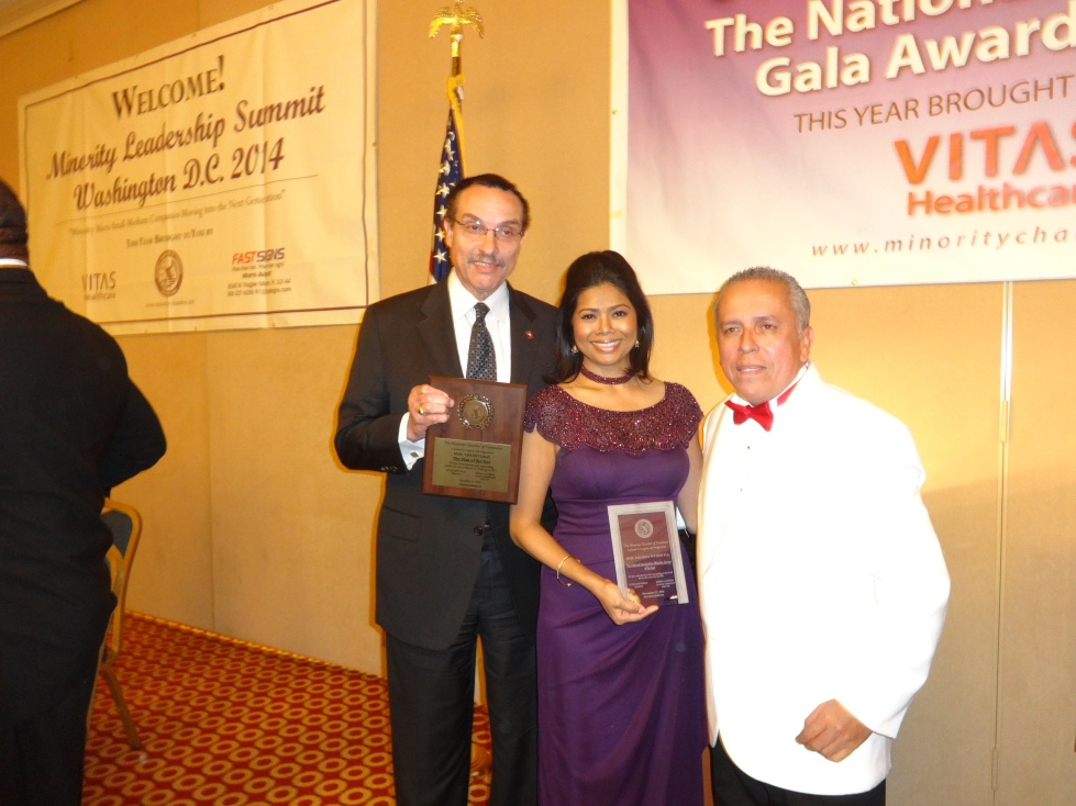 With Mayor of DC and Mr. Mayorga